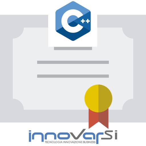Innovarsi Formazione - Attestato di partecipazione corso di programmazione C++