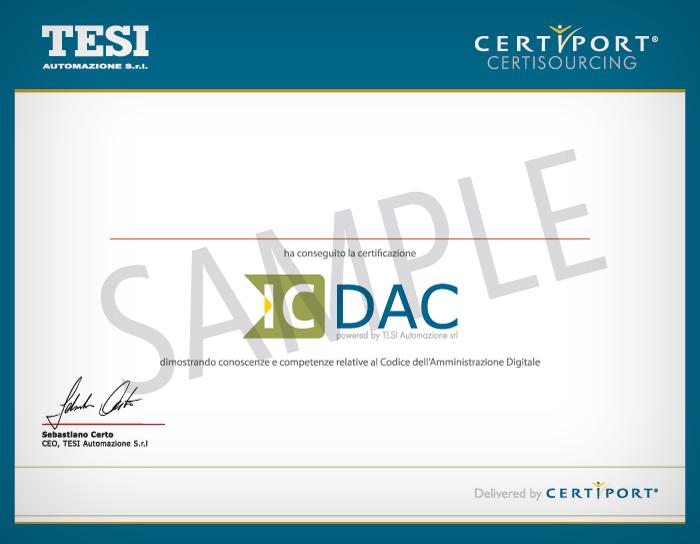 Innovarsi Formazione - Certificazione IC DAC