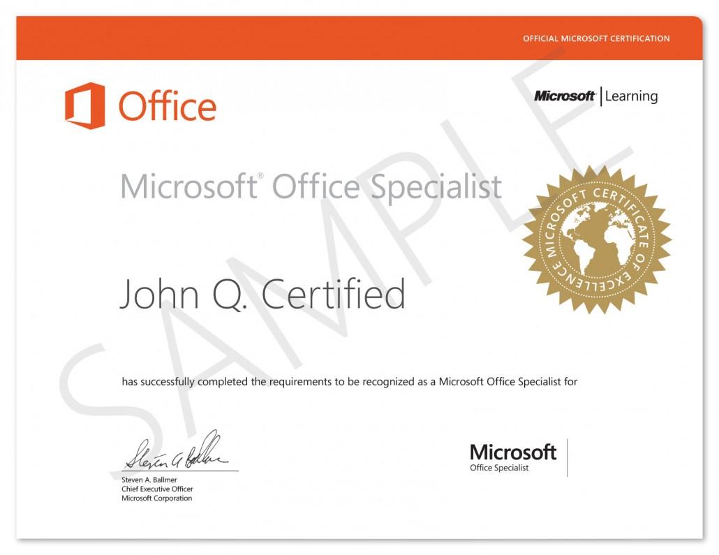Innovarsi Formazione - Certificazione MOS - Microsoft Office Specialist