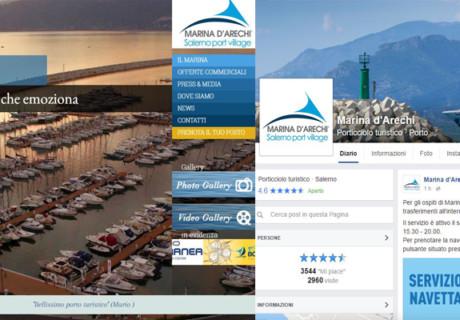 Posizionamento sul web, Help Desk e CIO Interim Management per Marina d'Arechi Srl