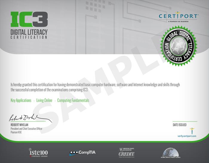 Innovarsi Formazione - Certificazione IC3